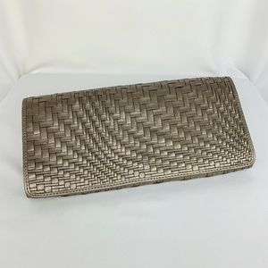 Cole Haan - Gold Weave Clutch